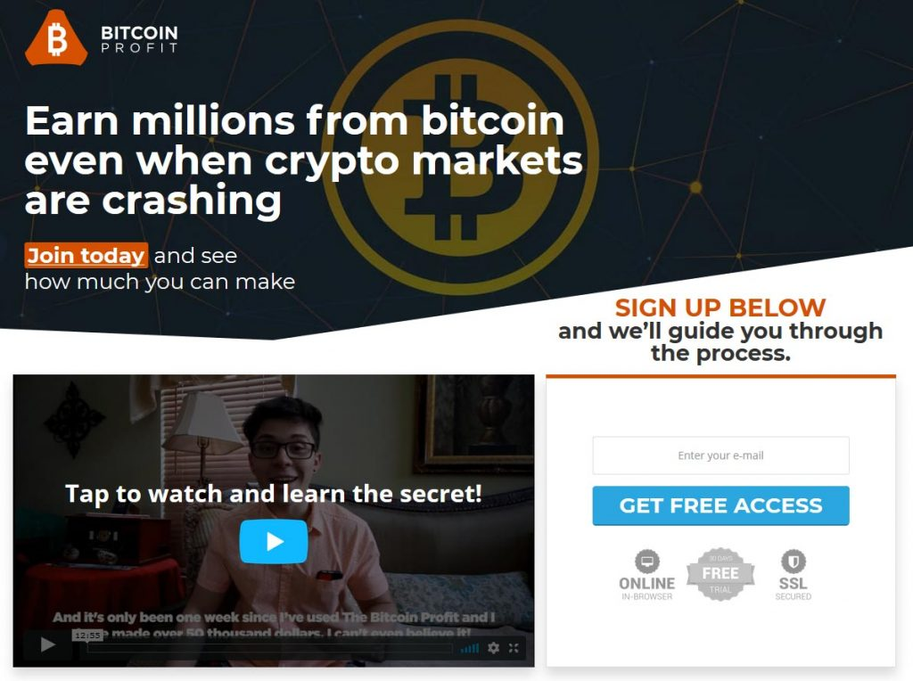 Bitcoin Profit Review – Is it SCAM or LEGIT broker?