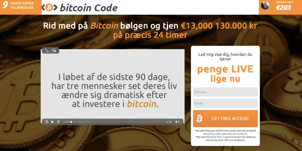 Bitcoin Code Anmeldelse