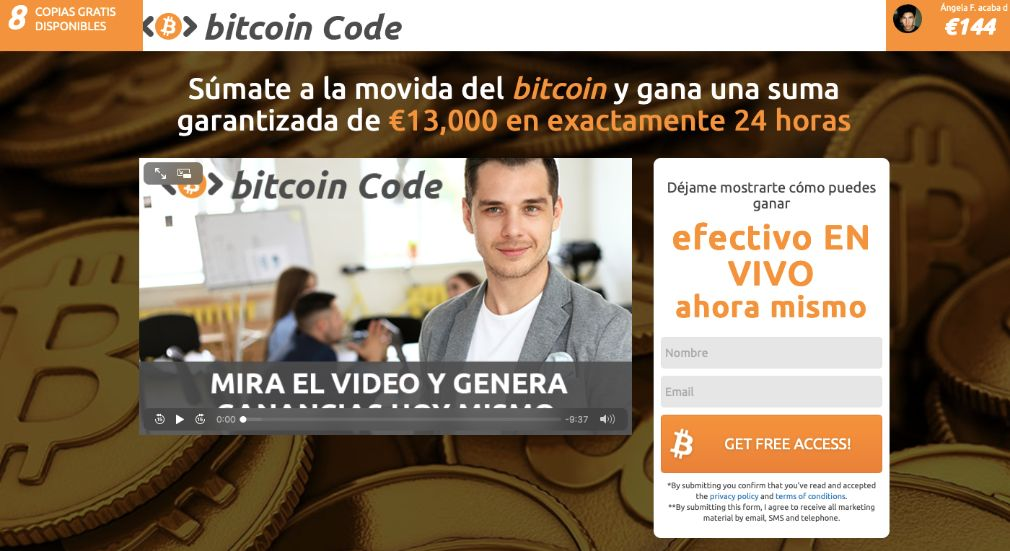 Bitcoin Code fiable o estafa