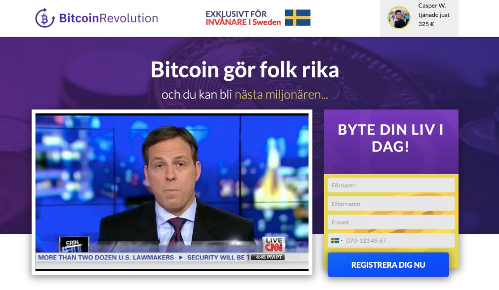 Bitcoin Revolution bluff