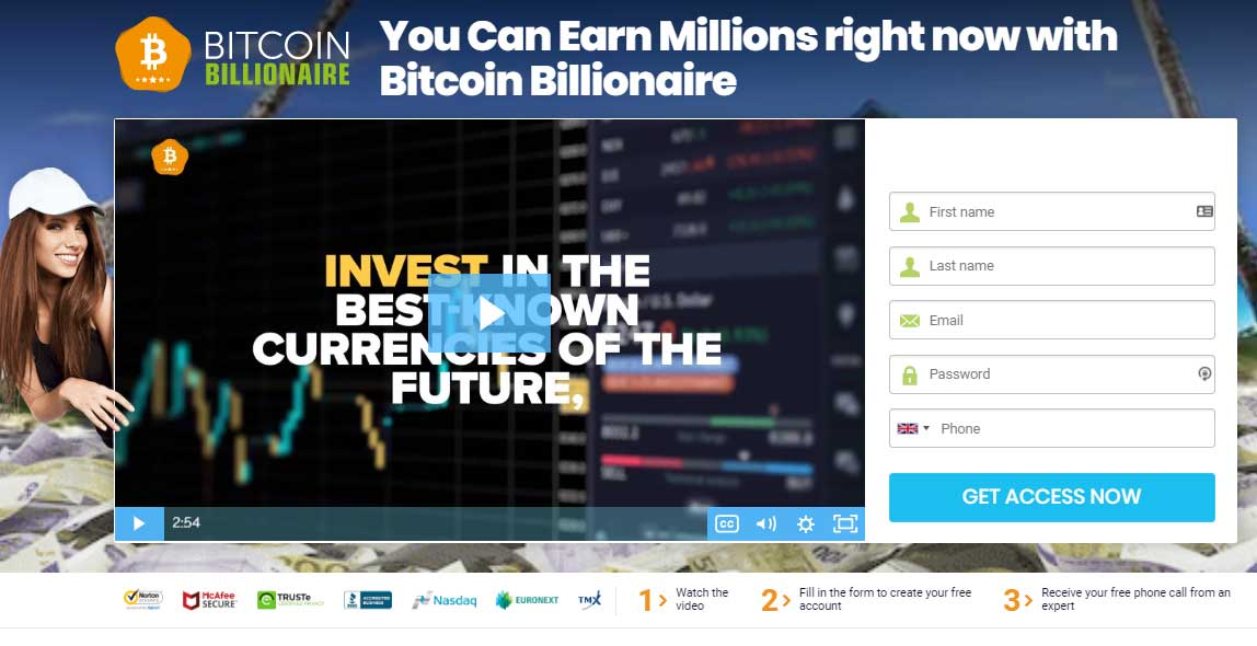 Bitcoin Billionaire Review – Is it SCAM or LEGIT broker?
