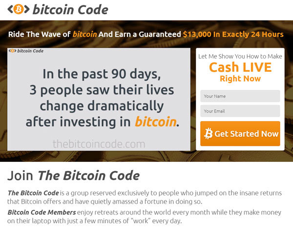 Bitcoin Code Review – Is it SCAM or LEGIT broker?