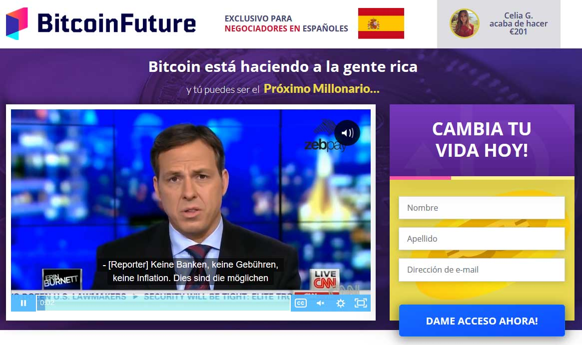 Bitcoin Future fiable o estafa