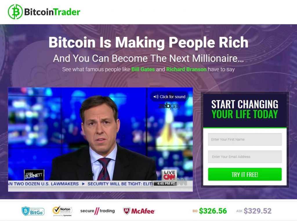 Bitcoin Trader Review – Is it SCAM or LEGIT broker?