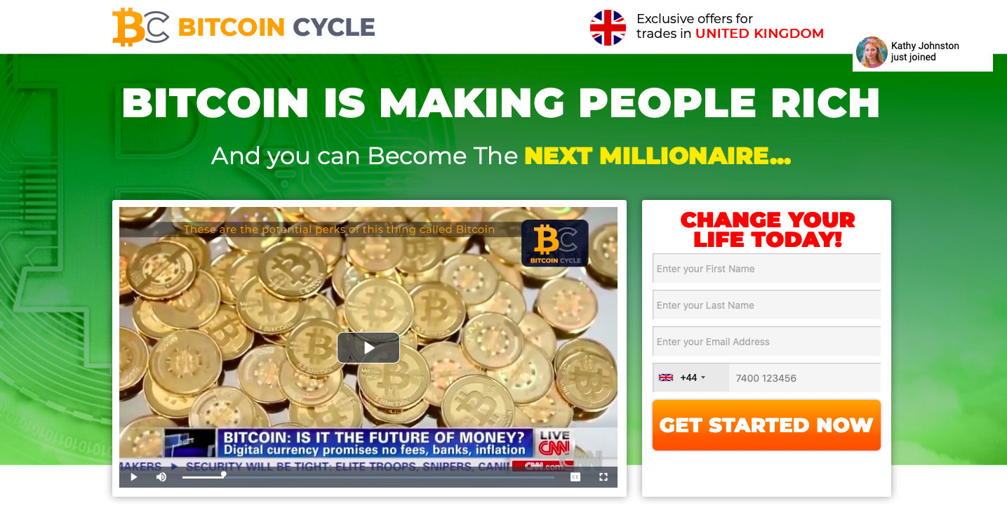 Bitcoin Cycle Review – Is it SCAM or LEGIT broker?