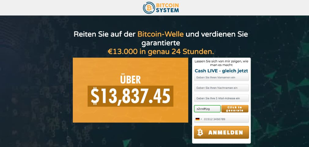 Bitcoin System ervaringstest